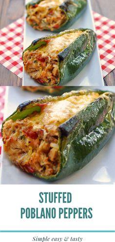 Veggie Recipes, Beef Recipes, Mexican Food Recipes, Appetizer Recipes, Great Recipes, Mexican Entrees, Chicken Recipes, Dinner Recipes, Pepper Recipes