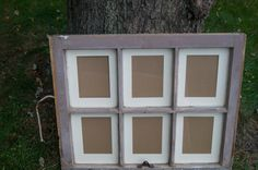Vintage  Window  Picture Frame by CairnWorks on Etsy, $70.00