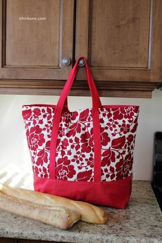 Market Bag sewing Pattern - maybe the mil will make me one!