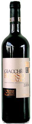 GIACCHE' ROSSO  Antico vitigno locale recuperato e sapientemente riprodotto va a racchiudere quello che è la massima espressione di un territorio antico e altamente vocato alla viticoltura.
