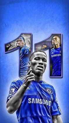 """Happy birthday to Chelsea legend, Didier Drogba Football Is Life, Football Kits, Football Cards, Football Players, Sport Football, College Football, Chelsea Wallpapers, Chelsea Fc Wallpaper, Chelsea Soccer"