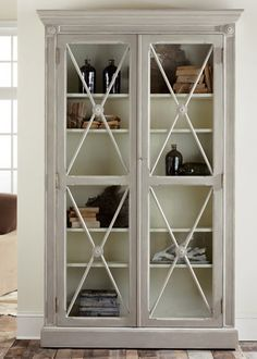 Swedish 2 Door Bookcase @LaylaGrayce