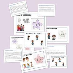 Autismo Fichas Didácticas para trabajar el autismo. Expresión y Comprensión de las Emociones.