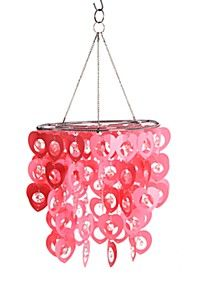 HANGING HEART CHANDELIER