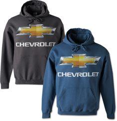 Chevrolet Bowtie Hooded Sweatshirt