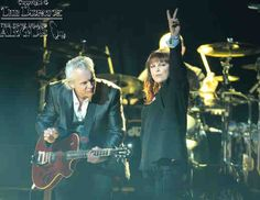 Rock icon Pat Benatar and guitarist/spouse Neil Giraldo rocks the i wireless Center in Moline, Wednesday, February 6, 2013. Benatar had two RIAA- certified multi-platinum albums, five RIAA-certified platinum albums, three RIAA-certified gold albums and 14 Top 40 singles, including 'Hit Me with Your Best Shot,' 'Love Is a Battlefield,' 'We Belong' and 'Invincible' in the 1980s. She was one of the most heavily played artists in the early days of MTV.  Photo: Todd Welvaert