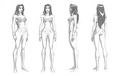 Category: Wonder Woman - Character Design Page