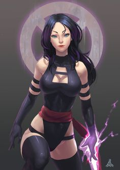 Psylocke by TsaiAFu Wow, this is so awesome, nice work..!