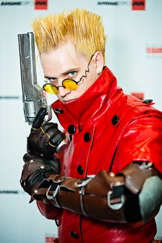 Vash the Stampede from Trigun | Anime Expo 2012 by Michael Shum #Costumes #Cosplay
