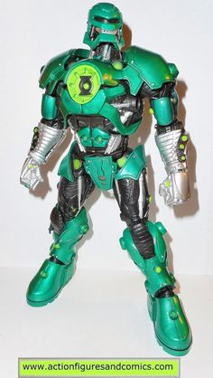 Mattel toys action figures for sale to buy DC UNIVERSE classics - Green Lantern series STEL - wave 2 build a figure 100% COMPLETE Condition: Excellent. nice paint, nice joints. nothing broken, damaged
