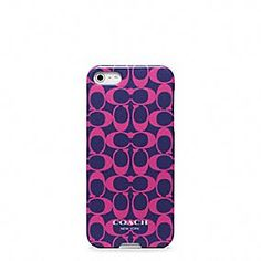 Coach :: iphone 5 case I love my Dooney & Bourke case, but I would take this one too!