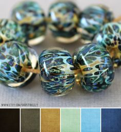 Art Bead Scene Blog: Art Bead Palette :: Fire Lily Glass Studio