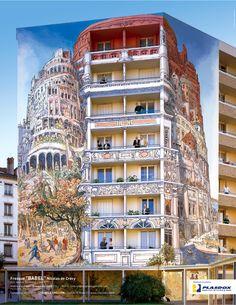 la Tour de Babel selon Nicolas Du Crécy. - (Pia Gazil) - LYON