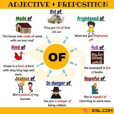 adjective and preposition combinations - OF