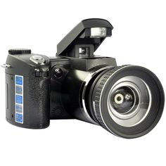 5 Mega Pixel Digital Camera and 30 FPS 720P Camcorder with 8x Digital Zoom and Wide-angle Lens