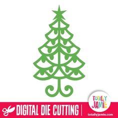 Christmas Tree Flourish Ornament 3