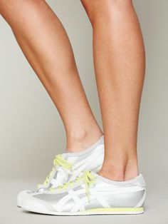 Asics Metallic Audrey Sneakers at Free People Clothing Boutique