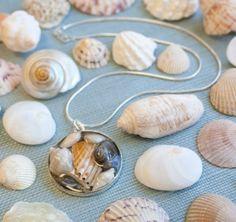Seashell Resin Bezel Jewelry Making