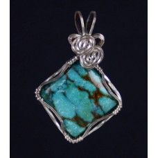 pendants and styles Panda, Pendants, Turquoise, Sterling Silver, Rings, Floral, Handmade, How To Wear, Jewelry
