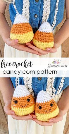 Halloween Crochet Patterns, Crochet Animal Patterns, Amigurumi Patterns, Crochet Animals, Crochet Pattern Free, All Free Crochet, Cute Crochet, Crochet Crafts, Crochet Projects