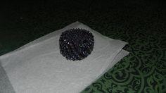 Bracciale capriccio Swarovski neri e grigi