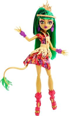 Monster High Ghouls' Getaway Jinafire Long Doll.