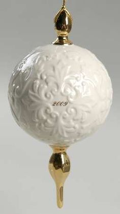Lenox ChinaAnnual Christmas Ornament at Replacements, Ltd