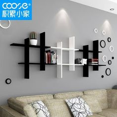 The newest catalog of corner wall shelves designs for modern home interior wall decoration latest trends in wooden wall shelf design as home interior decor trends in Indian houses Wooden Wall Shelves, Wall Shelf Decor, Wall Shelves Design, Floating Shelves, Unique Wall Shelves, Diy Wall, Home Decor Furniture, Diy Home Decor, Furniture Design