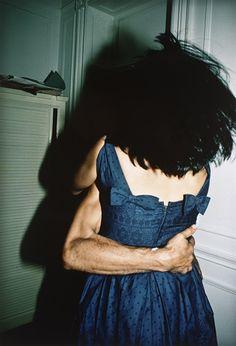 Nan Goldin (United States, District of Columbia, Washington, born 1953-09-12)  The Hug, 1980  Photograph, Silver dye-bleach (Cibachrome) print, Sheet: 24 x 20 in. (60.96 x 50.8 cm); Mat: 30 x 24 in. (76.2 x 60.96 cm)  Photographic Arts Council, 2005 (M.2005.103)  Photography Department.