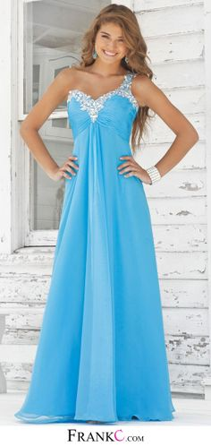 blue prom dress,long prom dress