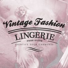 vintage lingerie article and definitions