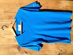 Cobalt Blue. 100% Supima Cotton. Made in America. $25.00.
