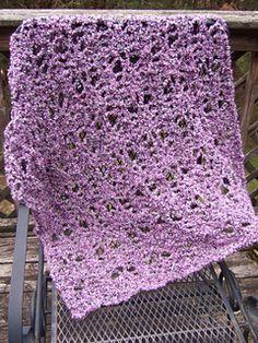No Beginning Chain Strawberry Lace Blanket By Heather Tucker - Free Crochet Pattern - (ravelry)