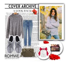 """""""Romwe 56"""" by zerina913 ❤ liked on Polyvore featuring Victoria's Secret, Frame and romwe"""