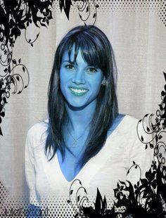 Missy Peregrym...Andorian effect #StarTrek