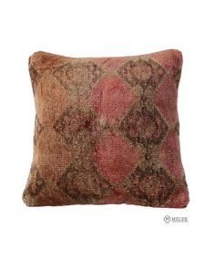 "Handmade Carpet PILLOW CUSHION COVER - Carpet Rug Anatolian Turkish 16"" x 16"" #Anatolian"
