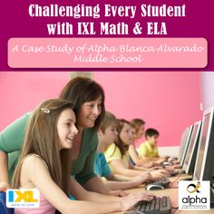 For a real-life example of how IXL is used in one 6th-grade classroom at Alpha Blanca Alvarado Middle School, check out teacher Katrina Musco's approach.