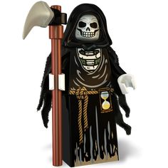 The Grim Reaper - Custom Minifigure The Grim Reaper Custom LEGO Minifigure Lego Custom Minifigures, Lego Minifigs, Lego Ninjago, Lego Wallpaper, Lego Halloween, Lego People, All Lego, Lego War, Cool Lego Creations