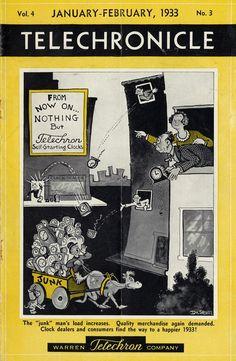 Warren Telechron Company Ad by Dr. Seuss