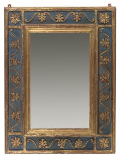 Mirror Frame by Charles Prendergast  ca. 1907-1912 at Williams College Museum of Art.