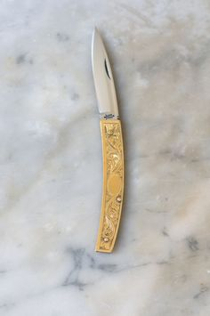 A beautiful example of an all-purpose chef's knife, handmade in Italy by Coltellerie Berti. Made with high carbon, stainless-steel blade. Our pick if you're going to go the stainless steel route.