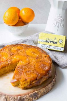 Caramelised Orange Flourless Cake - Using our premium Salted Butter, Almond Meal and Rapadura Sugar