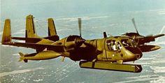 Description de l'avion d'observation américain : Grumman OV-1 Mohawk, Avion d'observation, construit par Grumman, en 1959, pour Etats-Unis