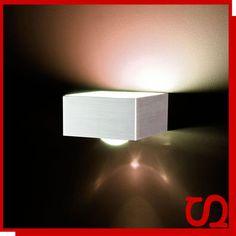 s`luce Cubix Wandleuchte Up/Down-Licht, Wandlampe Lampe Leuchte Flurlampe