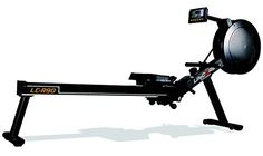 LifeCORE Fitness R90 Rowing Machine – Indoor Rower for Garage Gym – Cardio Interval Training at Home