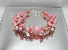 Candied Heart - Jewelry creation by Linda Foust