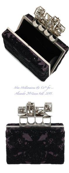 Alexander McQueen Fall .2015. - Miss Millionairess & Co™