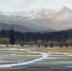 First Snow Bridgers by Liz Haywood-Sullivan