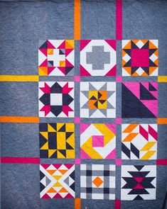 Introducing the Boulder Modern Quilt Guild Block of the Month Challenge 2018. Free BOM!
