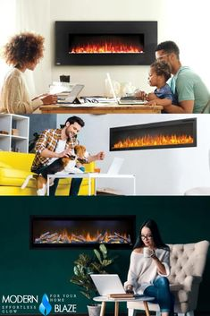 Electric Fireplaces are safe to use indoors and flames are safe to touch. Add warmth ambiance to any room with an electric fireplace. Bioethanol Fireplace, Gas Fireplace, Electric Fireplaces, Fireplace Inserts, The Unit, Indoor, Touch, Room, Stuff To Buy